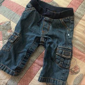Carters Denim Jeans Infant Boy Sz 6-12 Mo